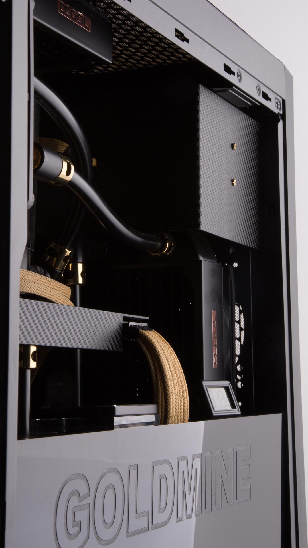 Goldmine V2 Casemod Wasserkuehlung PC