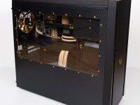Goldmine – Wasserkühlung PC im Gold Design