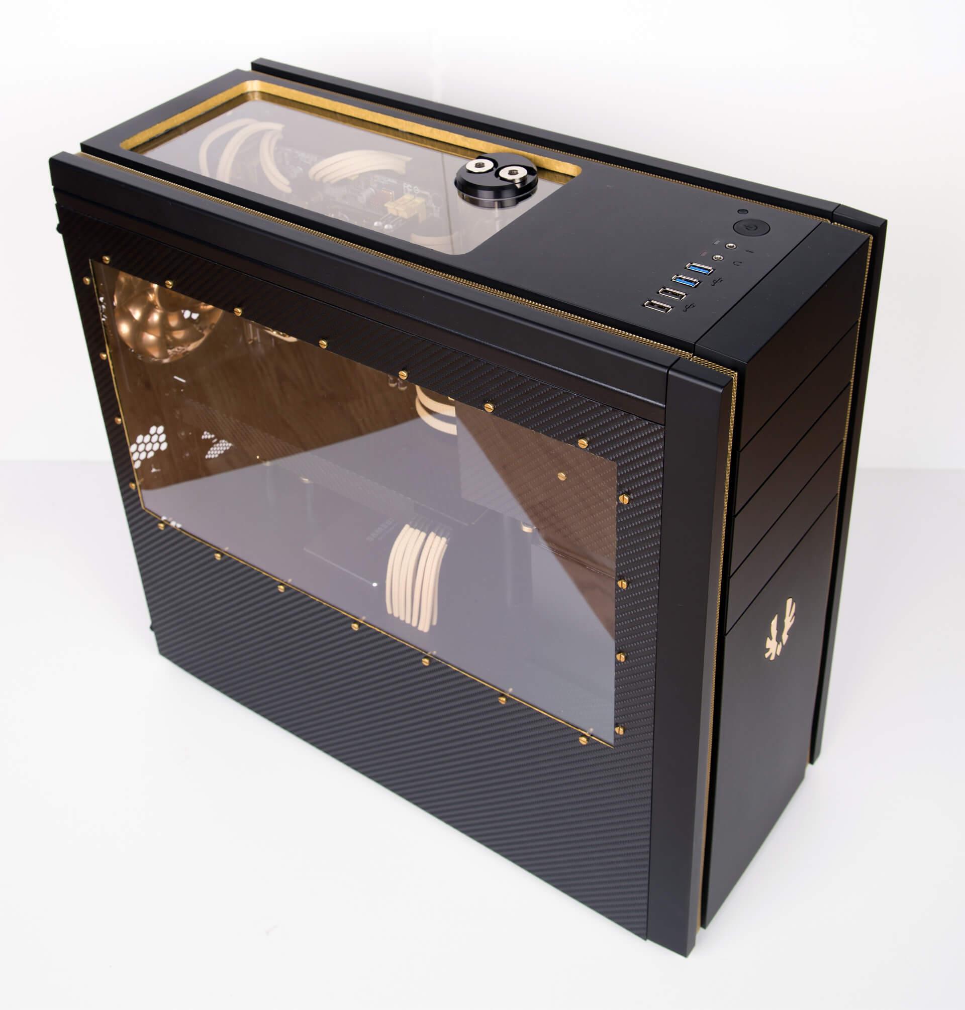 Goldmine Wasserkühlung Casemod