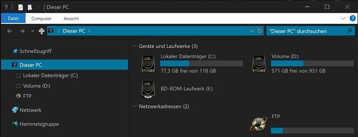 windows 10 ordner im datei-explorer entfernen creators anniversary update dieser pc