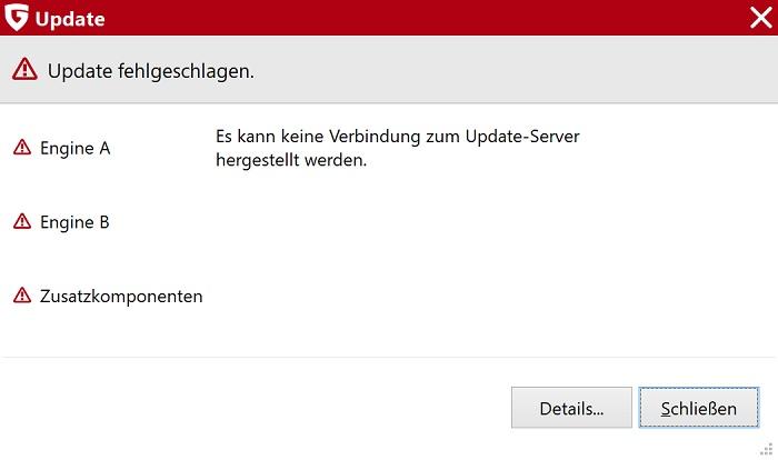 windows 10 security suites update funktioniert nicht fehler beheben anleitung
