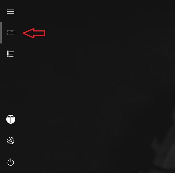 windows 10 startmenue liste der apps ausblenden entfernen button ein