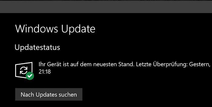 windows 10 update reparieren cmd Kommandozeile keine updates