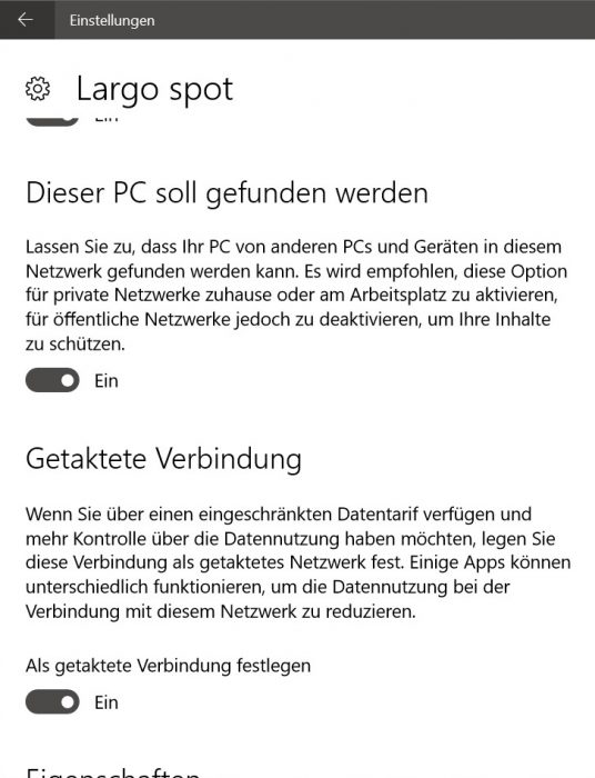 windows 10 getaktete verbindung hotspot teethering wlan spot eigener laptop tablet