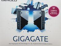 Devolo Gigagate WLAN-Bridge Test an VDSL-100 und Vergleich