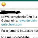 Rewe-Gutschein lockt in ABO-Falle mit WAP-Billing