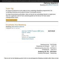 amazon fake phishing email