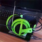 Notebook Laptop Interne Mikrofon verhindert Headset Nutzung