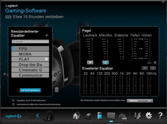 logitech wireless usb 7.1 gaming headset
