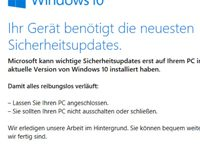 Windows 10 – Update-Assistent zwingt Nutzer zu Versions-Update