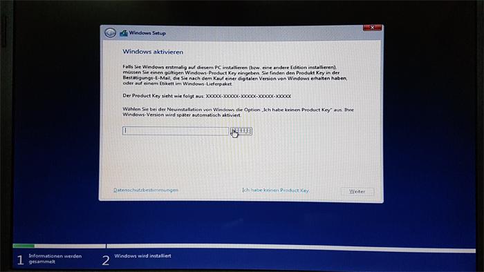 windows 10 installation datenschutz version 1709