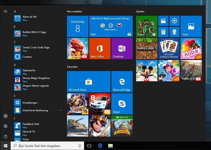 windows 10 live kacheln alle gleichzeitig auf einmal deaktivieren entfernen löschen