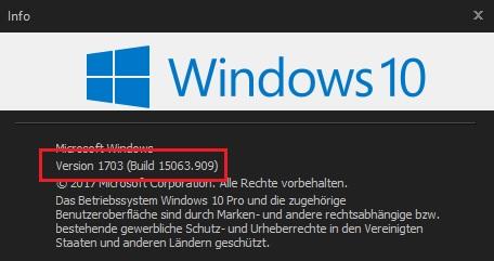 windows 10 registry hacks sammlung skripte reg-datei version info