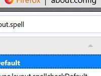 Firefox – Rechtschreibprüfung funktioniert nicht mehr / aktivieren