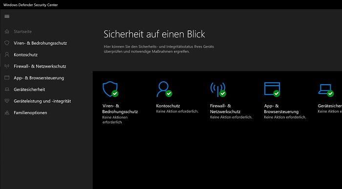 windows-sicherheit 10 defender symbol icon verstecken ausblenden hide antiviren-programme