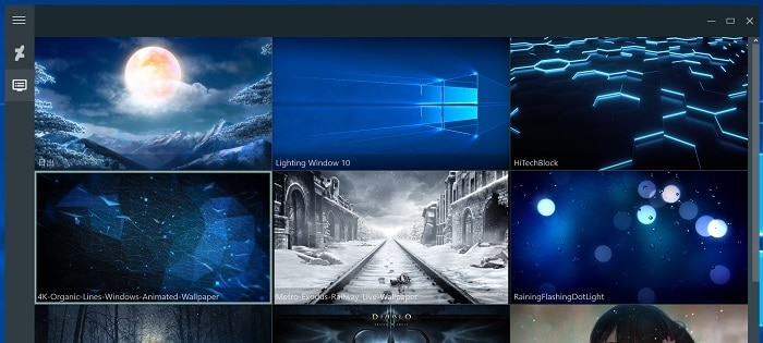 rainwallpaper windows 10 desktop live wallpaper hintergrund animiert bild