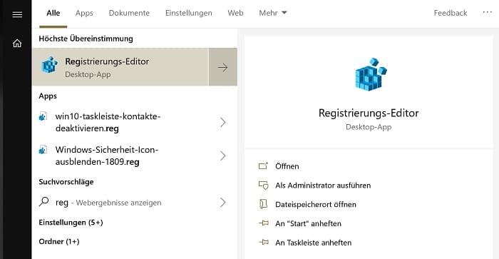windows 10 eigene registry-datei erstellen ändern editieren bearbeiten