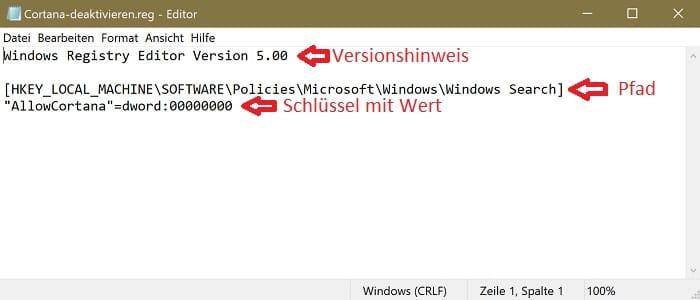 windows 10 eigene registry datei erstellen ändern editieren bearbeiten