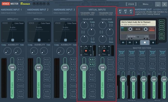 windows 10 usb-headset klinke audioausgang lautsprecher boxen gleichzeitig simultan nutzen