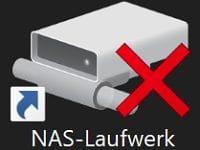 Windows 10 – Netzlaufwerke (NAS) nicht erreichbar (rotes X)