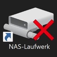 windows 10 bug netzlaufwerke rotes x beheben fehler update oktober 1809 netzlaufwerk ohne passwort
