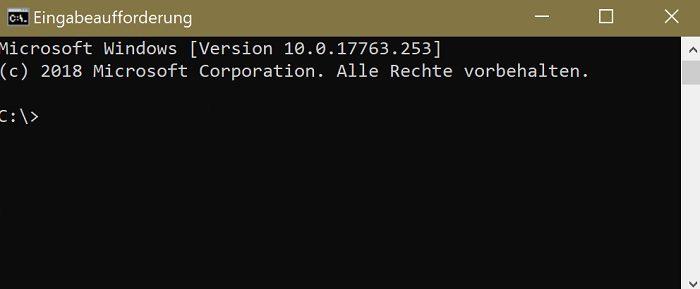 netzwerk-befehle windows 10 powershell eingabeaufforderung sammlung kompendium