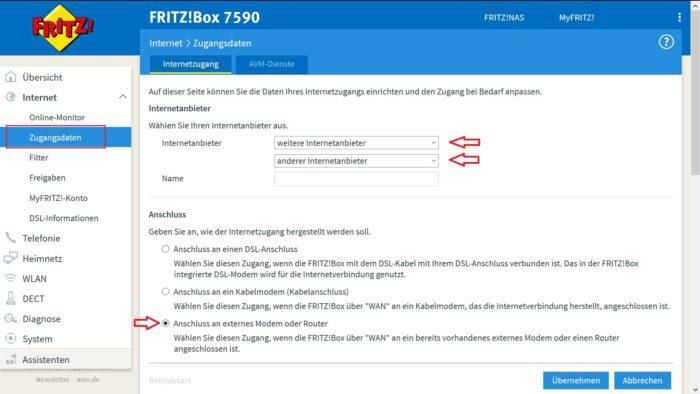 anmeldung verbindung zugriff nicht moeglich avm lan netzwerk web oberflaeche