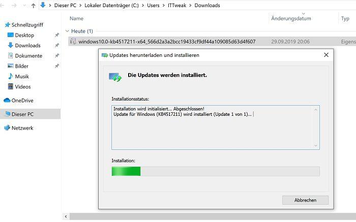 windows 10 update 1909 kb4517211