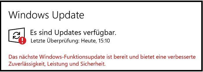 windows 10 1909 version update feature microsoft 0x80073701