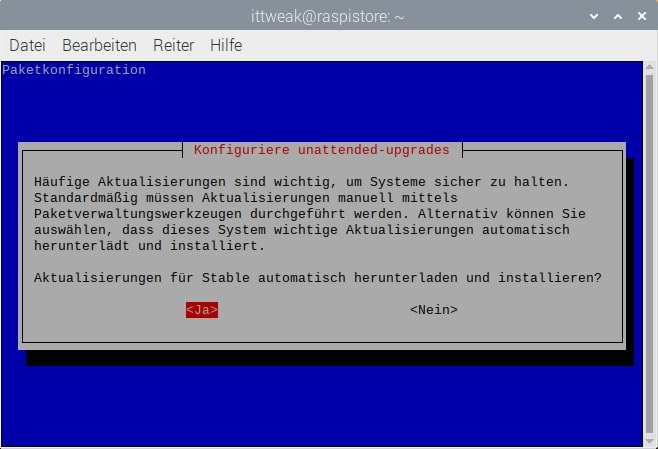 raspberry-pi-4-update-ssh-sicherheit-nutzer-user-upgrades