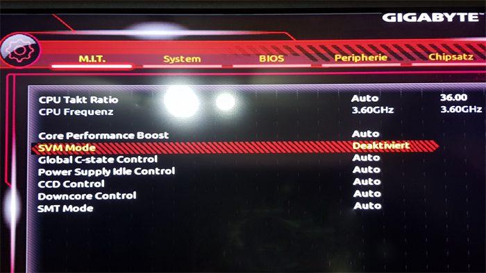 windows 10 sandbox vm virtual machine 1903 aktivieren pro home version svm mode