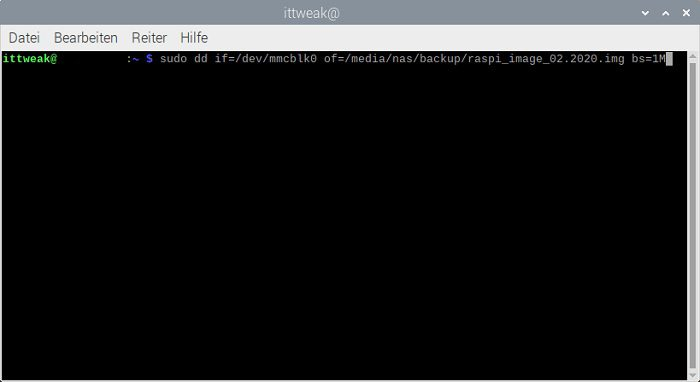 raspberry pi backup ohne ziehen entfernen sd-karte card remove