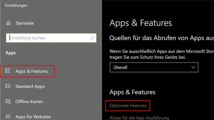 mai 2020 windows 10 features update 20h1 funktionen neuerungen optionale features