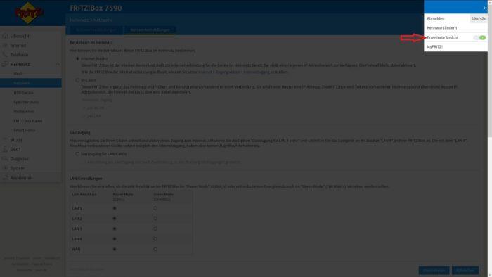 router-ip-adresse ipv4 dhcp wechseln aendern
