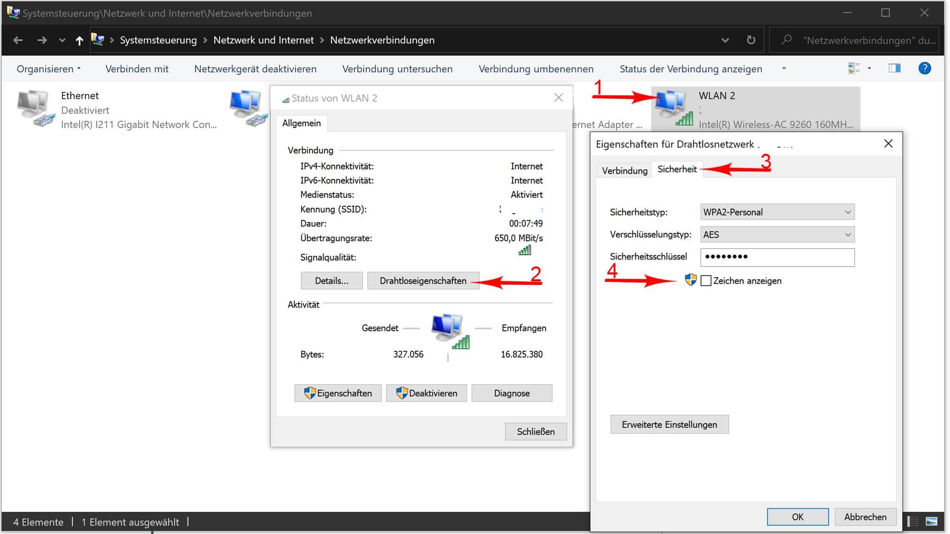Windows 10 Passwort Anzeigen Lassen