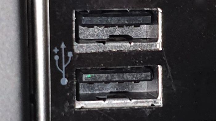 usb-ports schwarz 2.0