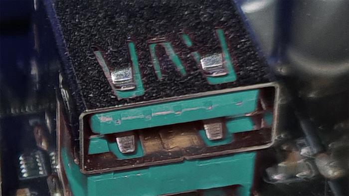 usb-ports farbe türkis 3.2