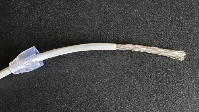Netzwerkkabel Drahtgeflecht