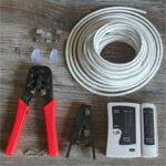 netzwerkkabel selber selbst anfertigen erstellen crimpen machen lan rj45 kabel netzwerk
