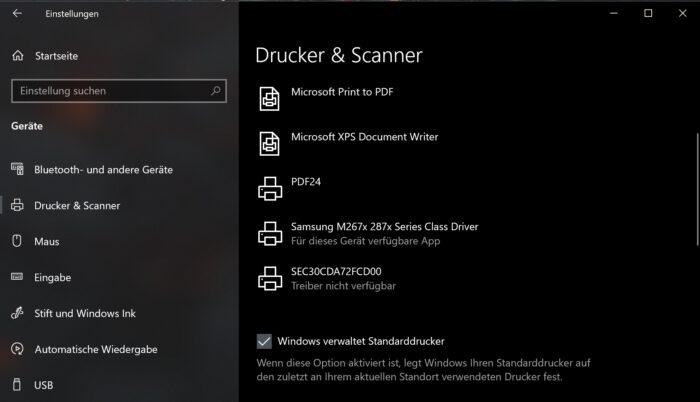 druckauftrag bug windows 10 update 2021 20h2 2