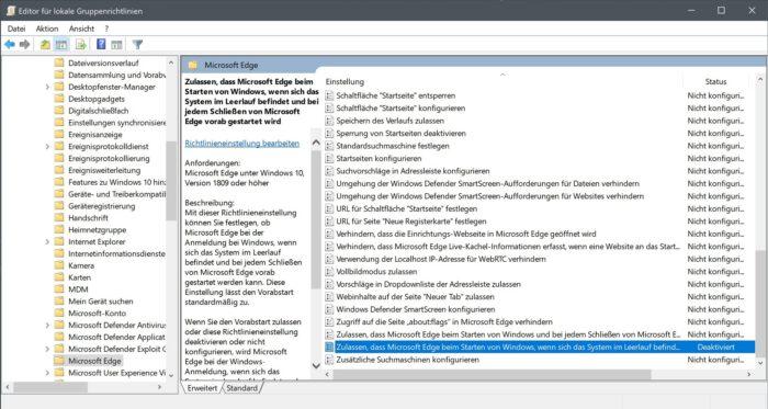 edge browser prozess windows 10 chromium beenden deaktivieren