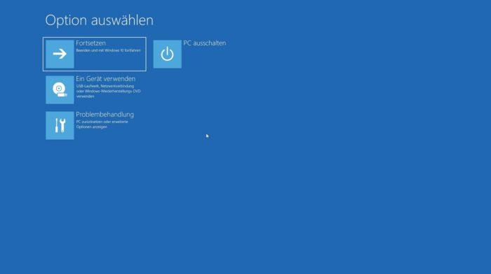 abgesicherten modus windows 10 starten erreichen aktivieren optionen problembehandlung