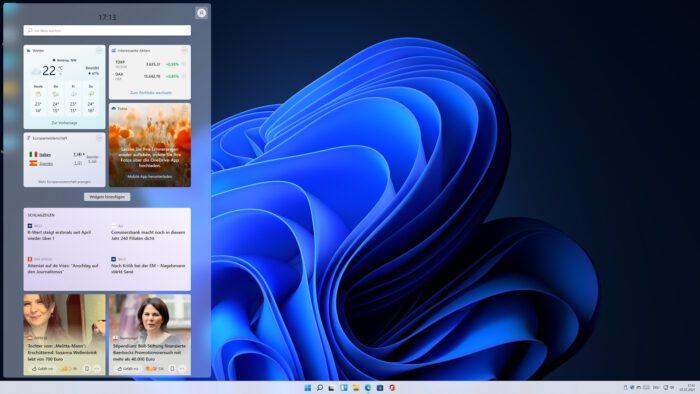 windows 11 neue tastenkombinationen shortcuts widget