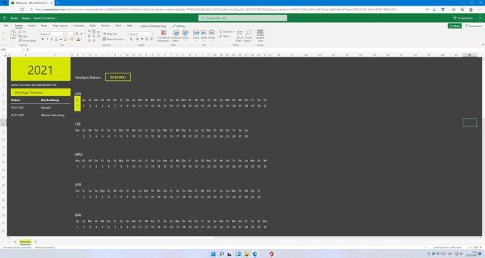 Office 365 in Windows 11