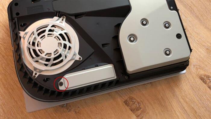 PS5 NVMe erweitern Festplatte SSD