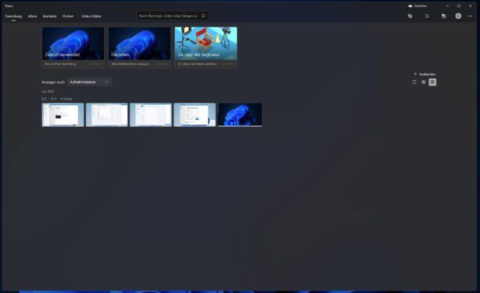 windows 11 neue foto app