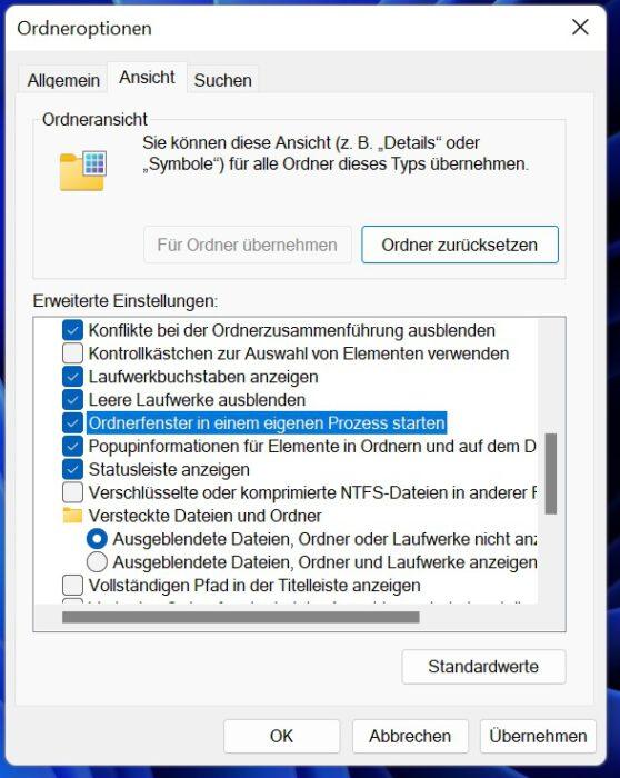 ram bug windows 11 beheben